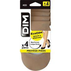 DIM Dim Protège-pieds ecodim beige 20D taille 39/42 x4 4 pièces