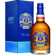 Chivas scotch whisky 18 ans avec étui 40° -70cl