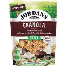 JORDAN'S Jordans granola chocolat noir noix de coco graines bio 400g