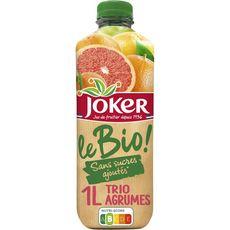 JOKER Nectar trio d'agrumes sans sucres ajoutés 1l