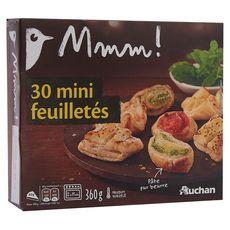 Auchan Gourmet Mini feuilleté 360g