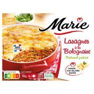 Marie lasagnes à la bolognaise 1kg