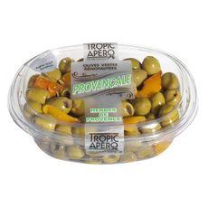 Tropic apero Olives vertes dénoyautées à la provençale 200g