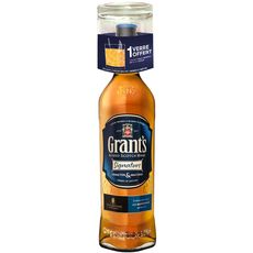 Grant's whisky signature 40° -70cl +verre