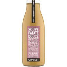 Giraudet Soupe de patate douce et curry vert 50cl