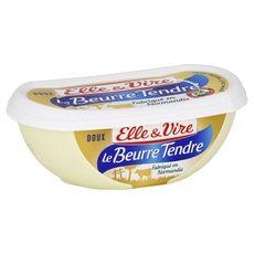 Elle & Vire beurre doux 82%mg plaquette 250g
