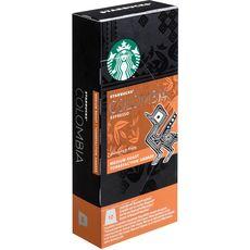 Starbucks café espresso Colombia nespresso capsule x10 -55g