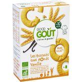 Good Goût bio biscuits tout ronds à la vanille 80g dès 10m