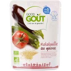 GOOD GOUT Purée de ratatouille au quinoa bio dès 6 mois 190g