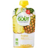 Good Goût gourde bio ananas dès 4 mois 120g
