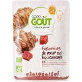 Good Goût Good goût Parmentier de boeuf aux topinambours bio dès 12 mois 220g