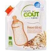 Good Goût bio avoine blé riz 200g dès6mois