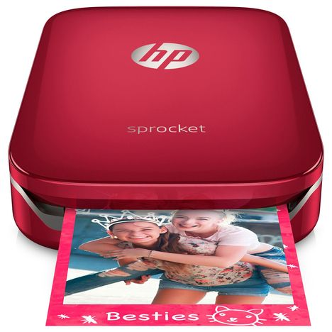 HP Imprimante photo portable Sprocket Rouge