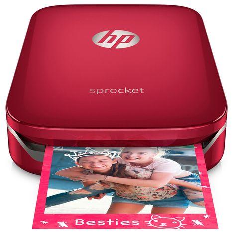 HP Imprimante photo portable Sprocket Rouge