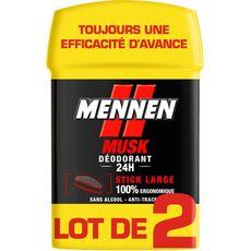 Mennen déodorant stick musk 2x50ml