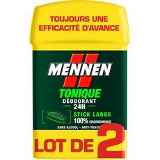 Mennen déodorant stick tonique 2x50ml
