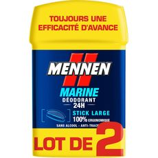 Mennen déodorant stick marine 2x50ml