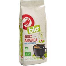 AUCHAN BIO Café moulu décaféiné 100% arabica 250g