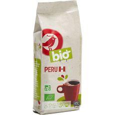 Auchan bio café moulu du Pérou 250g