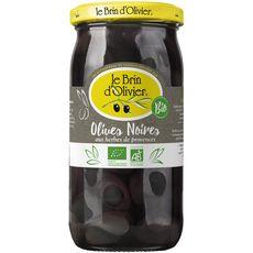 Le Brin D'Olivier olives noires aux herbes de provence 250g