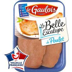 Le Gaulois la belle escalope de poulet x2 -240g