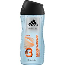 Adidas gel douche homme muscle massage 250ml