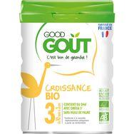 Good Goût bio lait de croissance 3ème âge -800g