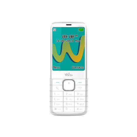 WIKO Téléphone portable Riff 3 - Double sim - Blanc