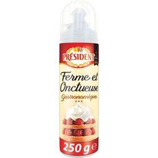Président crème entière sous pression 28%mg bombe 250g