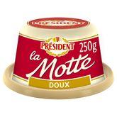 Président la motte beurre doux 250g