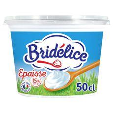 Bridélice crème fraîche épaisse légère 15% mg  50cl