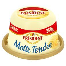 Président beurre tendre doux motte 250g