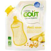Good Goût bio musli banane 200g dès 6 mois