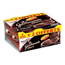 YOPLAIT Yoplait île gourmande chocolat 6+2offerts 6+2 offerts