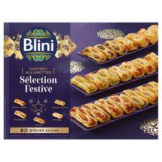 BLINI Blini Coffret allumettes sélection festive 870g 80 pièces 80 pièces environ 870g