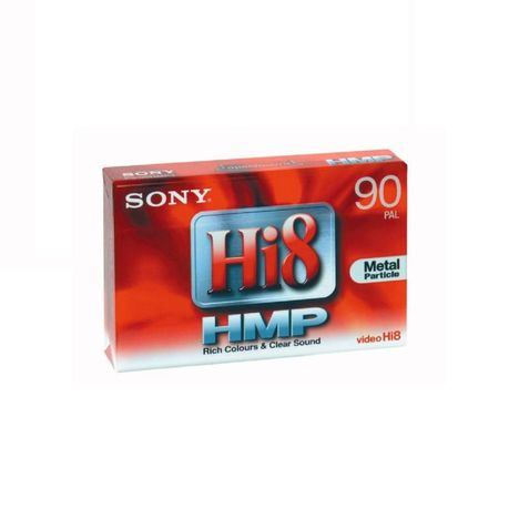 SONY Cassette vidéo Hi8 HMP pour caméscope 90 min PAL