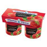 Mamie Nova gourmand fraise 2x150g