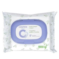 COSMIA BABY Papier toilette humide en lingettes pour bébé 50 lingettes