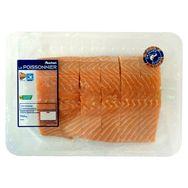 Auchan pavés de saumon filière responsable x6 - 750g