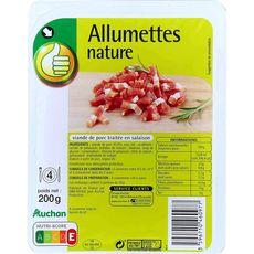 POUCE Allumettes nature 200g