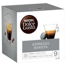 NESCAFE Nescafé espresso barista dolce gusto capsule x16 -120g