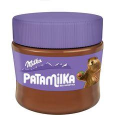 MILKA Patamilka pâte à tartiner aux noisettes 240g