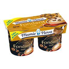MAMIE NOVA Mamie Nova Fondant dessert lacté gourmand au café 2x150g 2x150g