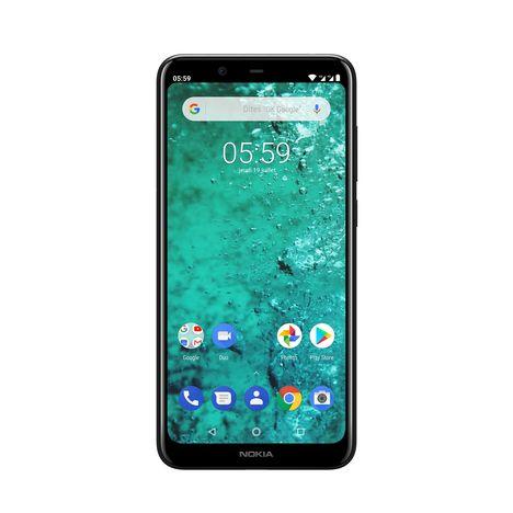 NOKIA Smartphone - 5.1 Plus Black - Noir - 4G