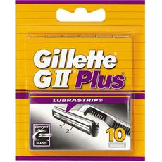 Gillette lames gII plus