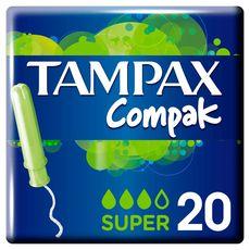 Tampax Super Plus Tampons Applicateur x20