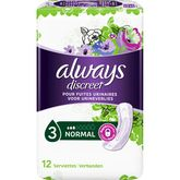 Always protection fuites urinaires serviette normale x12