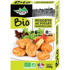 Nature de France nuggets de poulet bio 200g