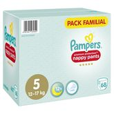 Pampers active fit pants x68 taille 5 family pack