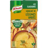 Knorr moulinée de légumes variés 1l